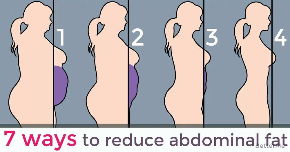 7 ways to reduce abdominal fat