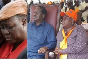Raila Odinga's sister goes against his WISHES