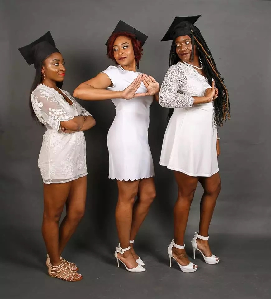 Flennoy's three daughters graduating from high school and college