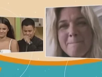 Ogie Alcasid and Michelle van Eimeren become emotional during video chat in 'Magandang Buhay'