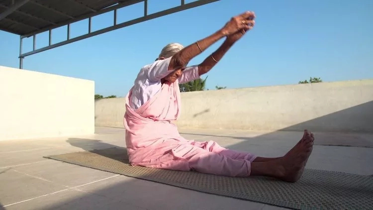 Check out this incredibly FIT 98-year-old yoga instructor (photos, video)