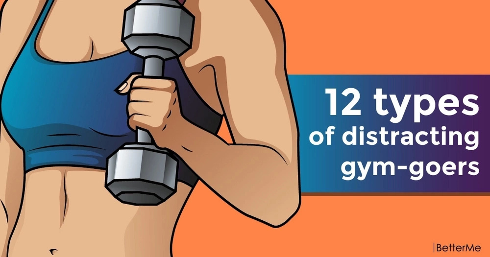 12 types of distracting gym-goers
