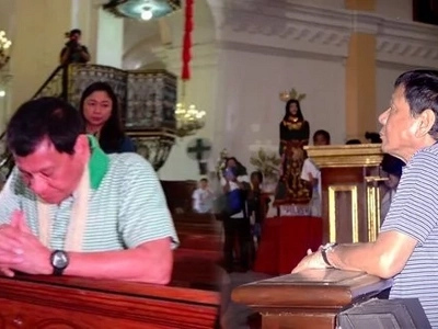 Duterte to set up new religion 'Iglesia ni Duterte' where men could have five wives