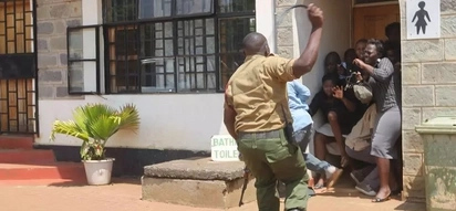 "Another police officer ""tries to shoot colleagues"" days after Kapenguria attack"