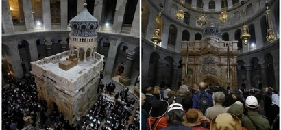 Researchers warn Tomb of Jesus is at risk of CATASTROPHIC collapse despite recent restoration (photos)