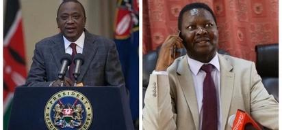 Rais Uhuru azungumzia uhusiano wake na marehemu Francis Nyenze