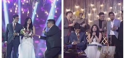 Honeymoon sa 'It's Showtime!' 1st TV appearance of Erwan Heussaff and Anne Curtis as husband and wife is a super kilig moment