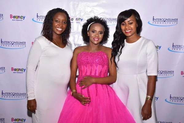 A heavily pregnant Pierra Makena stuns at her baby shower