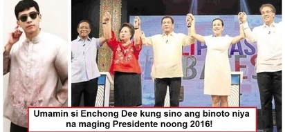 Matapang na umamin! Enchong Dee reveals who he voted for in the 2016 Presidential Election