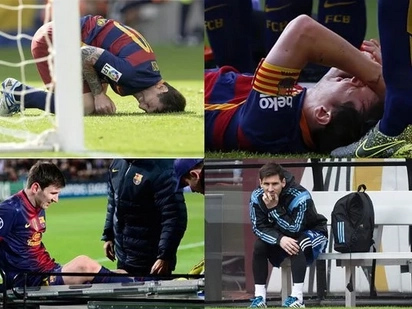Kawawa naman! Groin injury defeats football superstar Lionel Messi