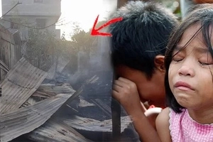 After losing parents, these orphaned children survive raging fire that burned down their home! Neighbors call it a true modern-day miracle!