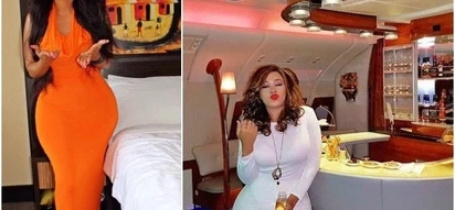 Vera sidika shows off her hour glass waist in latest expensive trip to Dubai