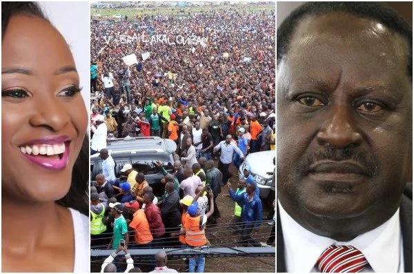Mtangazaji maarufu wa Citizen TV aongea na wafuasi wa NASA baada ya maripota kadha kuporwa, Nairobi