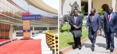 Jomo Kenyatta Airport employee fired for humiliating Matiangi