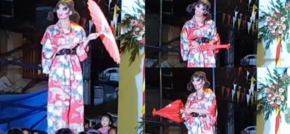 Miss Gay Pangkalawakan contestant made thousands of netizens laugh with hilarious act. This is pure good vibes
