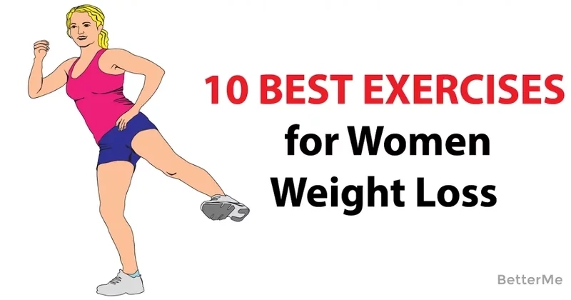 10 best exercises for women to lose weight