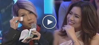 Pinaiyak si Vice! Angeline Quinto's insensitive LGBT retort brings Vice Ganda to tears