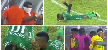 Tension and TEAR GAS as Zambia beat South Africa in the AFCON U-20 semi-final clash