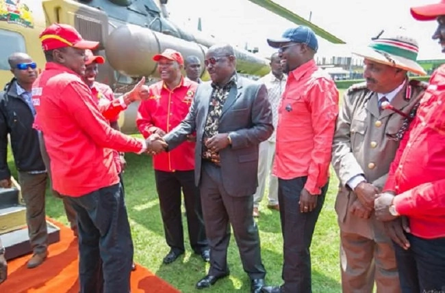 Bomet leaders plead with Uhuru to give former NASA co-principal Isaac Ruto a job