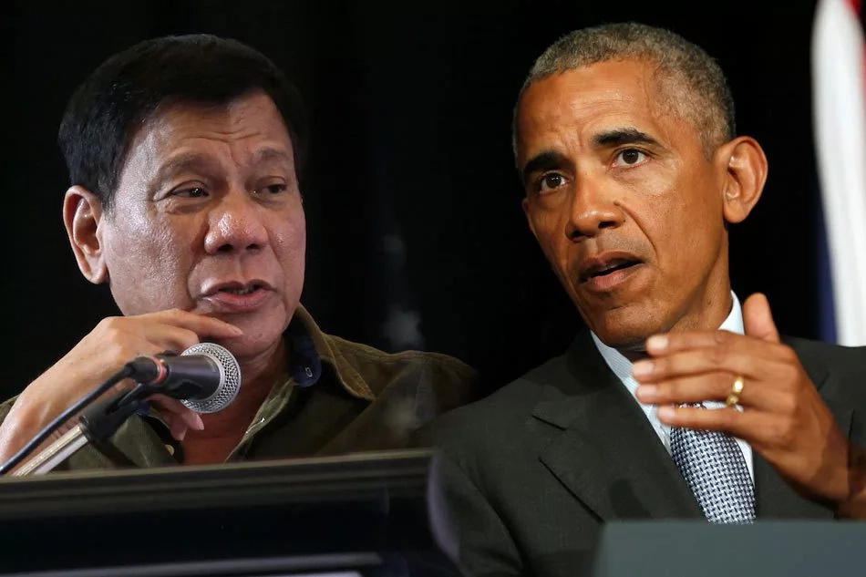 Duterte recants 'son of a bitch' remarks on Obama