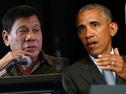 Duterte tells Obama he never cursed him