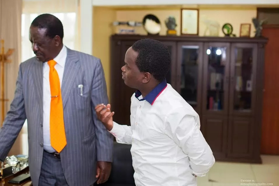 EXCLUSIVE: Author of controversial Raila book mysteriously disappears on the day of its launch