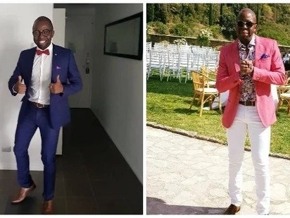 Female Jubilee's governor's gay son spotted in tight dress and TUKO.co.ke has the photos