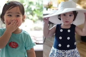 13 adorable photos how Scarlet Snow absolutely stole the social media scene