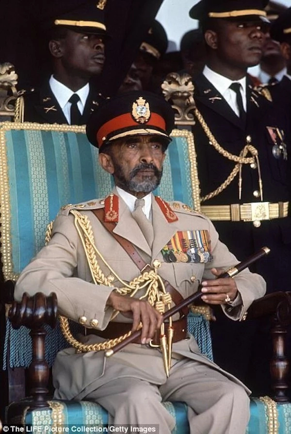 Haile Selassie I. Photo: Getty Images