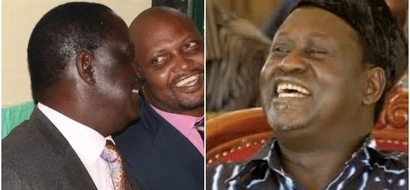 Moses Kuria surprisingly condemns disruption of Raila's speech in Kericho