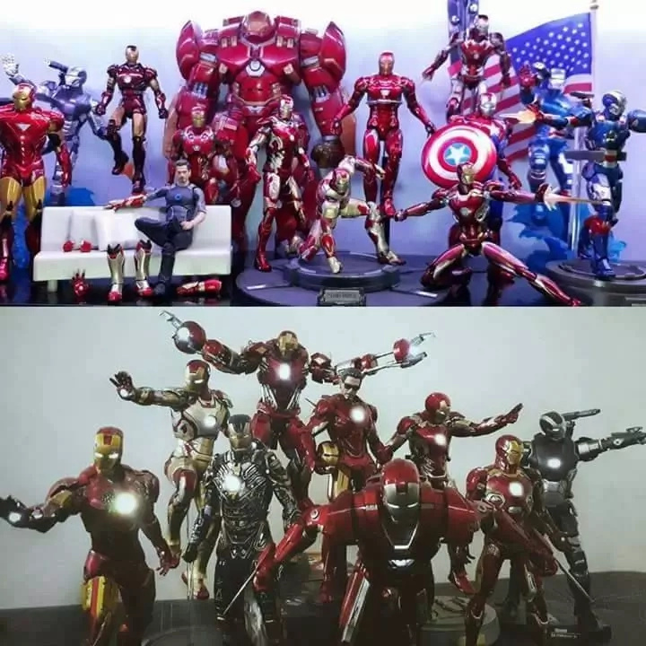 Kinarir ang koleksyon! Pinoy Ironman Action Figure Collector shares his unbelievable hobby