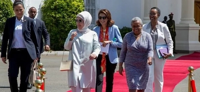 Photos: See the gift Margaret Kenyatta received from Turkish First Lady