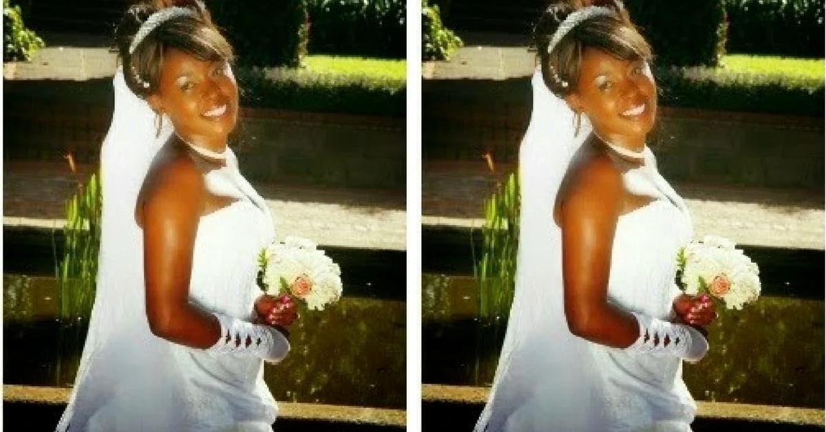 5 heartrending photos from Citizen TV's Lillian Muli's wedding