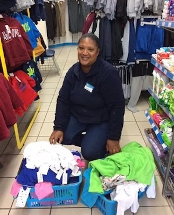 Desiree's act of kindness has inspired many. Photo: News24