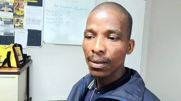Mbhele rescued 16 people from raging flood waters. Photo: IOL
