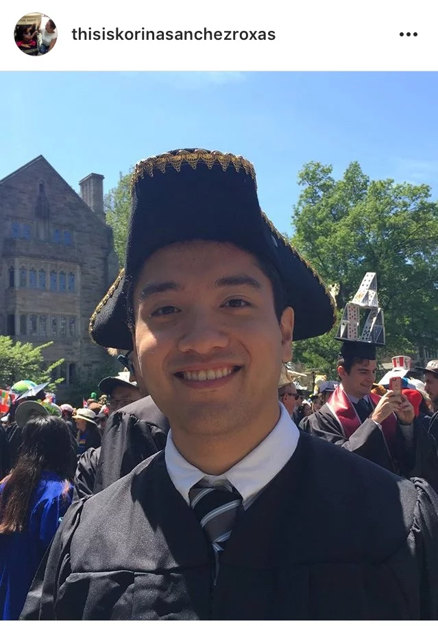 Korina Sanchez Attends Stepson Paolo's Graduation at Yale