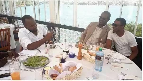 Viongozi wa ODM walivyojumuika na wasanii wa bongo (picha)