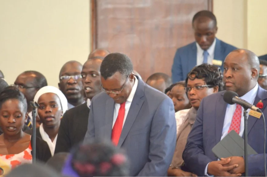 Jubilee party disowns petition seeking to fire Maraga for plotting to remove Uhuru from office