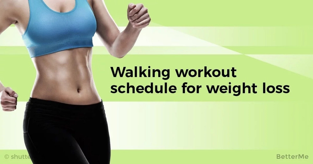 Walking workout schedule for weight loss
