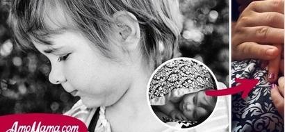 Una mamá hizo una conmovedora publicación final, después de que su pequeña muriera por un tumor cerebral