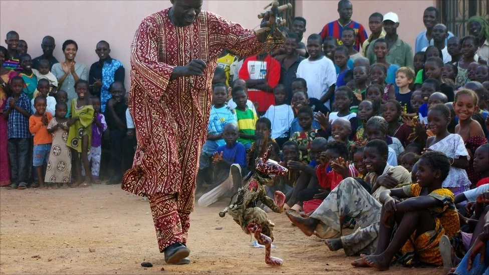 Yaya Coulibaly has become the chief custodian of Mali's tradition of storytelling through puppeteering