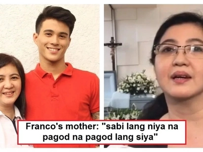 Franco Hernandez's mother opens up about what kind of a person his son was! She also revealed why he went to Davao Occidental