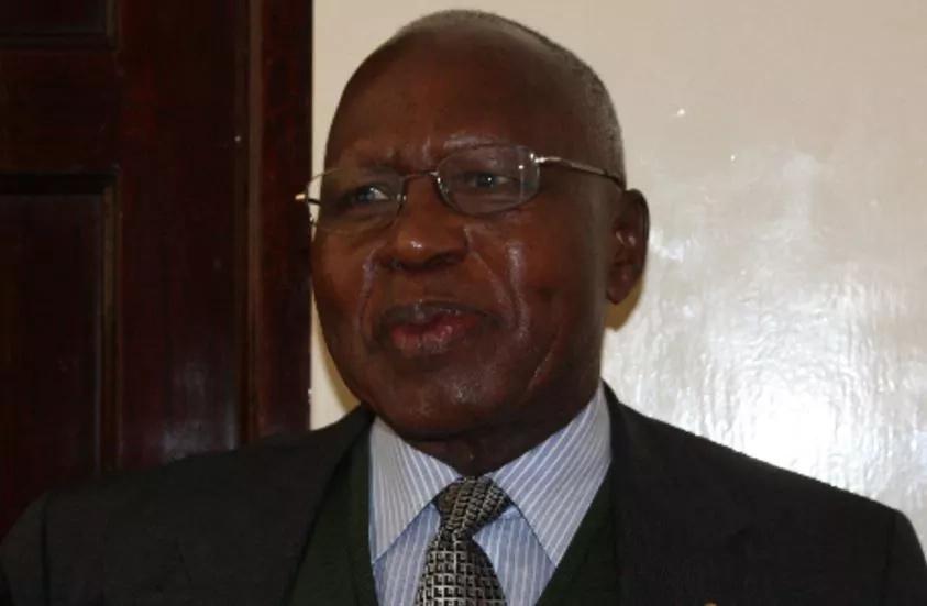 Ex-minister Simeon Nyachae taken ill
