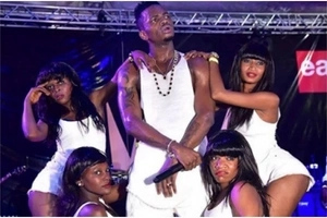 Explicit scenes from Diamond Platinumz latest song will leave your mouth wide open(PHOTOS)