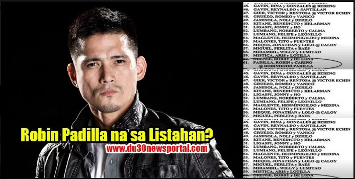 Robin Padilla eyes for executive clemency
