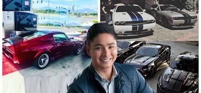 Dagdag sa koleksiyon! Coco Martin shares a glimpse of his latest car in his collection