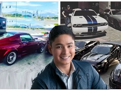 Dagdag sa koleksiyon! Coco Martin shares a glimpse of his latest car in his collection