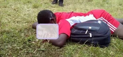 Photo: Student shot by prison warder in Migori discharged with deformed eye