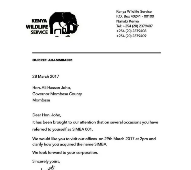 Raila Odinga UNEXPECTEDLY responds to fake KWS letter on Hassan Joho