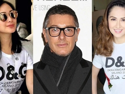 This one is for real! Founder of Dolce and Gabbana follows Marian Rivera and Heart Evangelista on Instagram